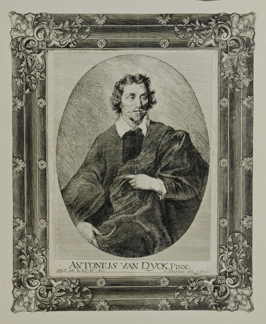 (3) Antiquarian portrait engravings - 4