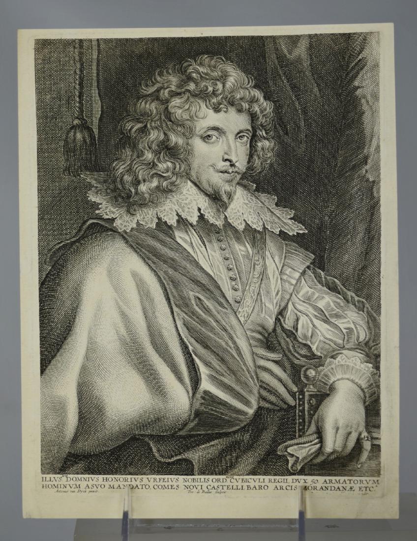 (3) Antiquarian portrait engravings - 5