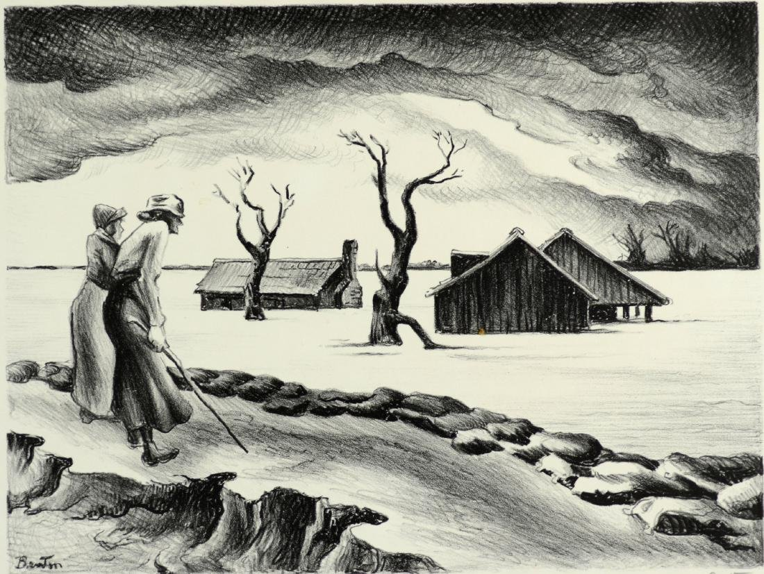 Thomas Hart Benton (American, 1889-1975), lithograph on