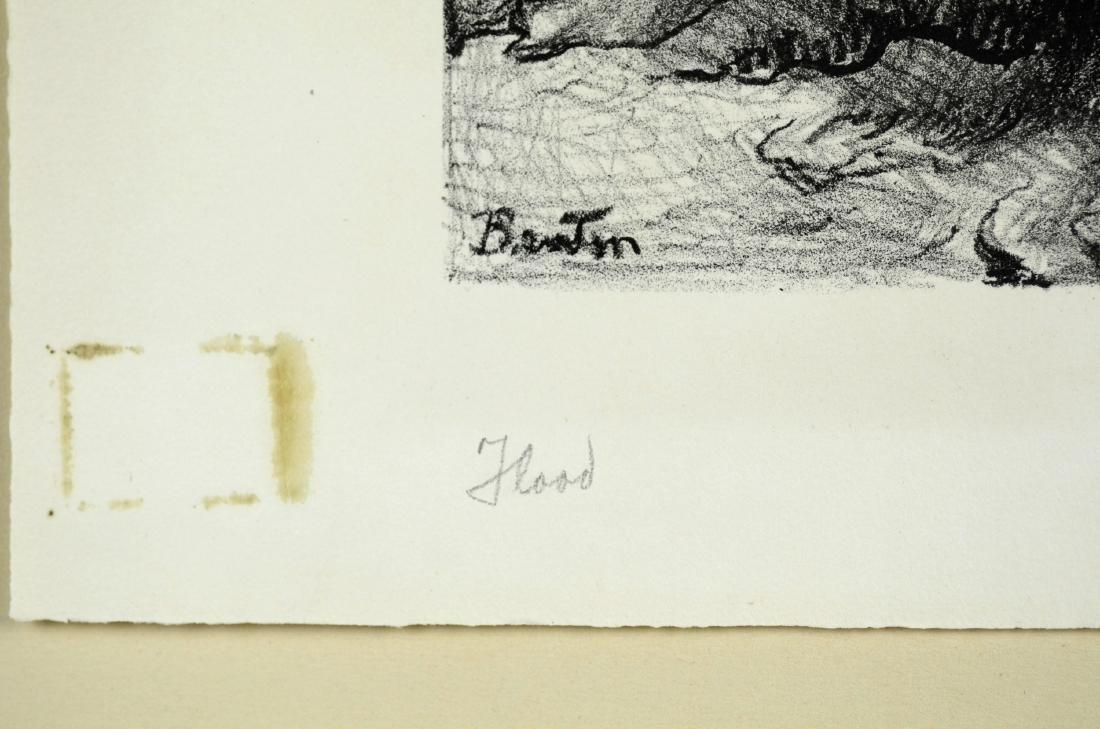 Thomas Hart Benton (American, 1889-1975), lithograph on - 3