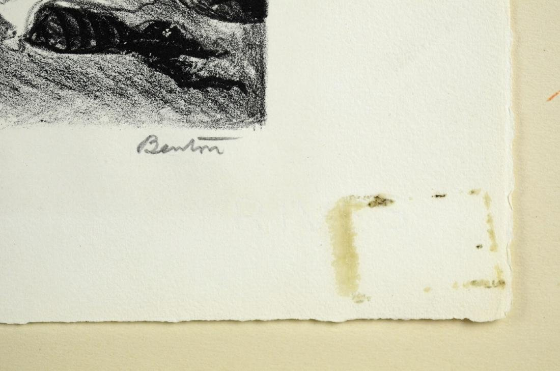 Thomas Hart Benton (American, 1889-1975), lithograph on - 4