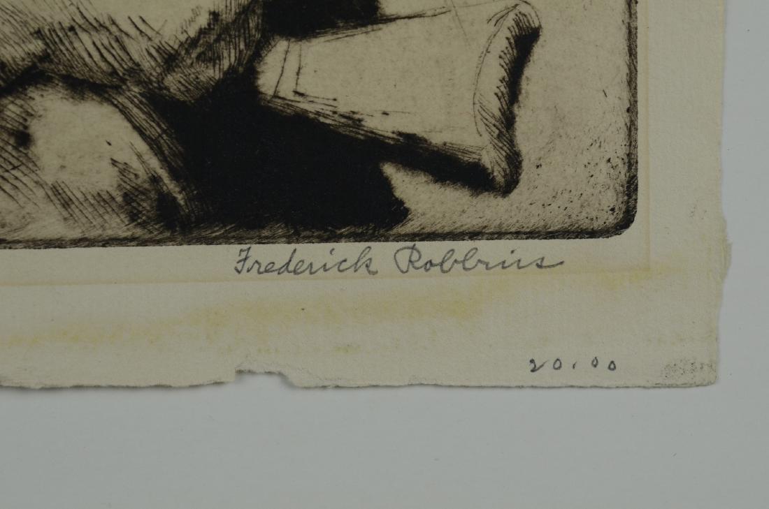 Frederick Robbins (American, 1893-1974), (2) drypoint - 4