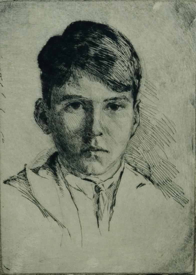 Frederick Robbins (American, 1893-1974), (2) drypoint - 5