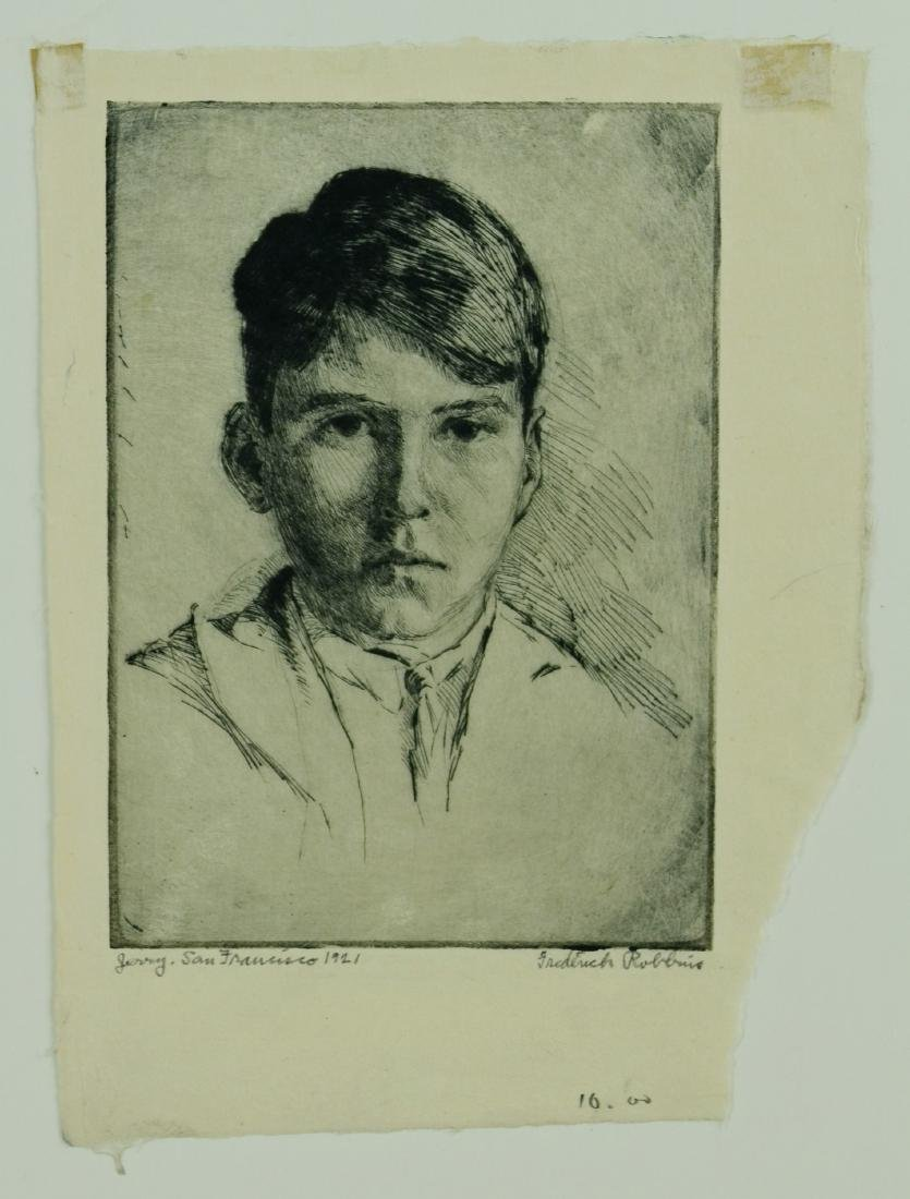 Frederick Robbins (American, 1893-1974), (2) drypoint - 6