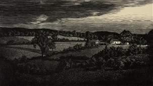 Asa Chaffetz American 18971965 wood engraving on