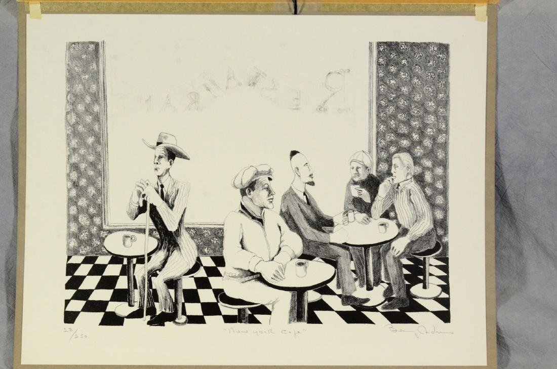 Benny Andrews (American, 1930-2006), lithograph on - 2