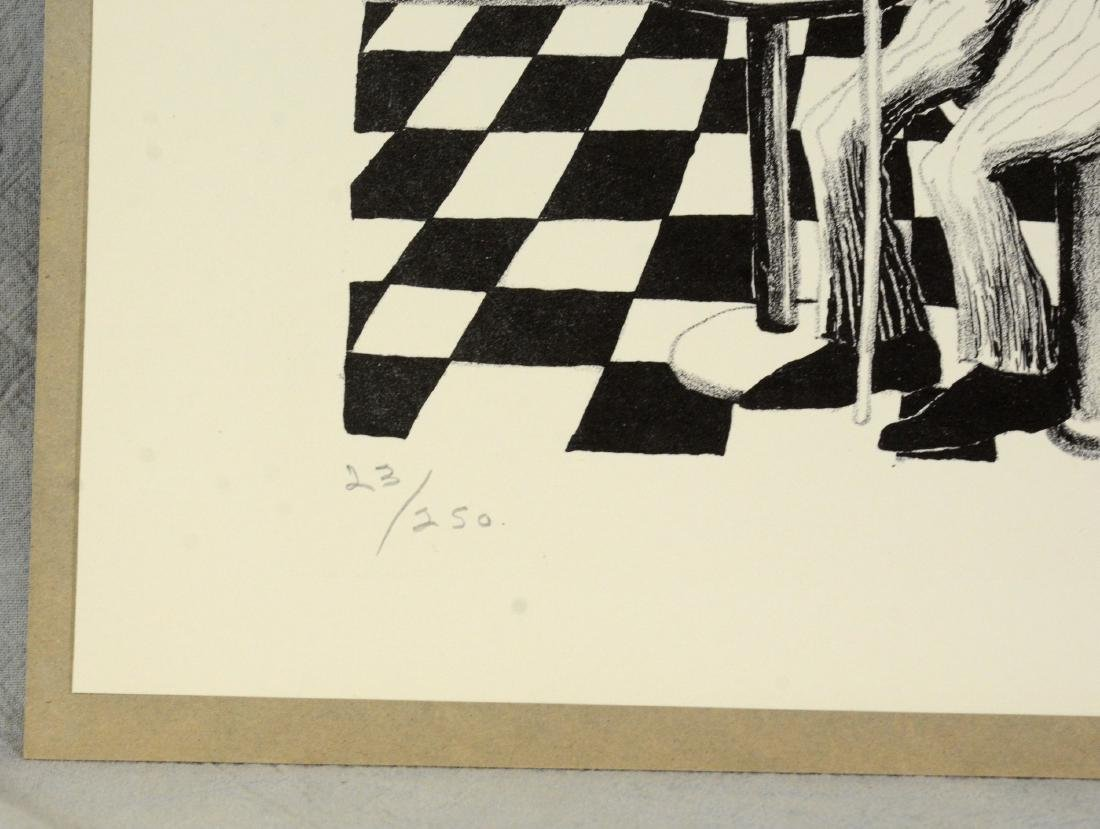 Benny Andrews (American, 1930-2006), lithograph on - 3