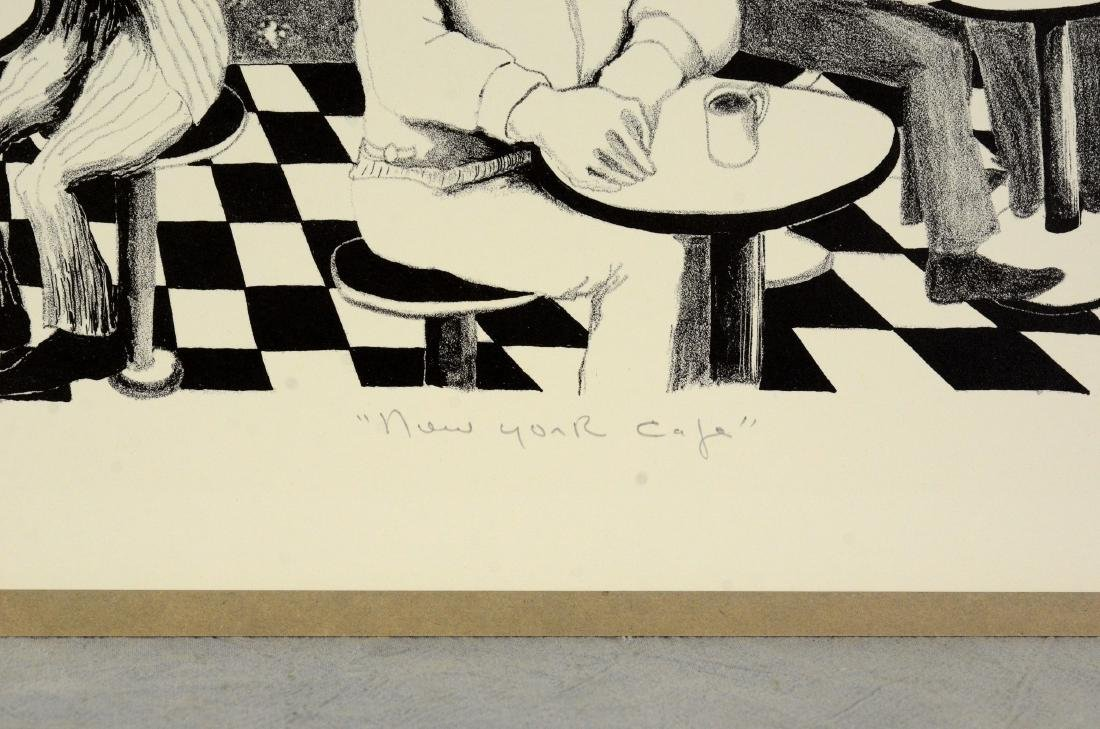 Benny Andrews (American, 1930-2006), lithograph on - 4