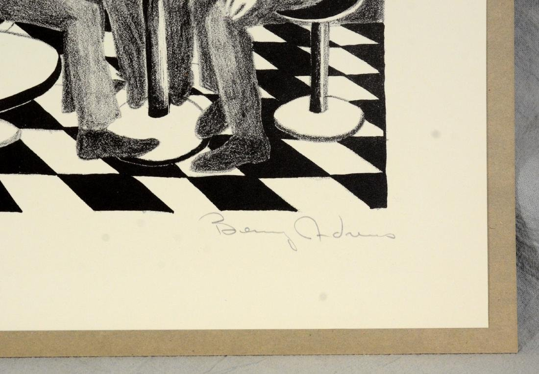 Benny Andrews (American, 1930-2006), lithograph on - 5