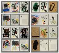 (42) Joan Miro portfolio prints