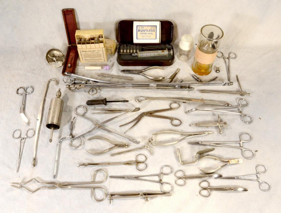 Mortuary related lot: Early Surgical & Mortuary