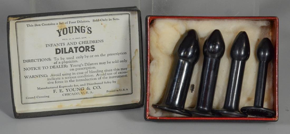 Proctology Lot: (4) Victorian Medical Anal Dilator Set - 2