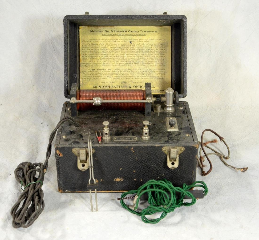 Early Mounted Telegraph Key & Base  c1910; Antique - 4