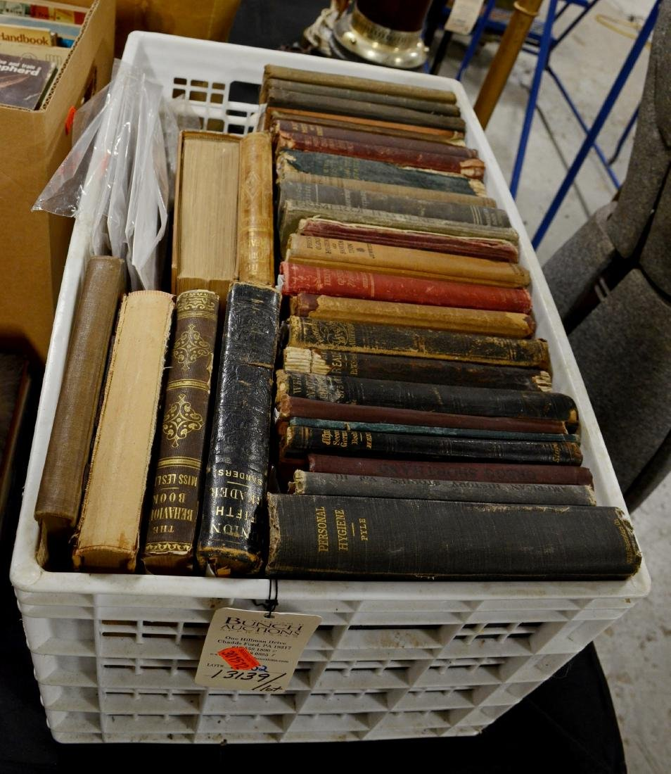 Large Lot Old Etiquette, Manners, Song, School, Math,