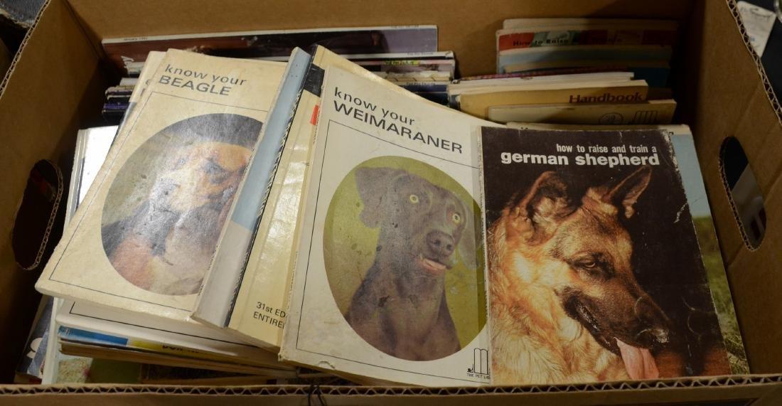 Gigantic Pet Shop Book Lot  50lbs+  Includes Dog (60)