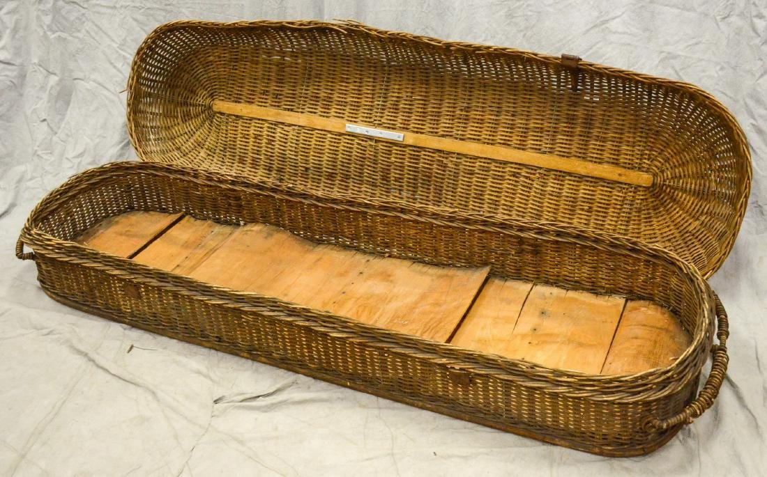 Basket Casket Funeral Carry Out c1900  Early body - 2