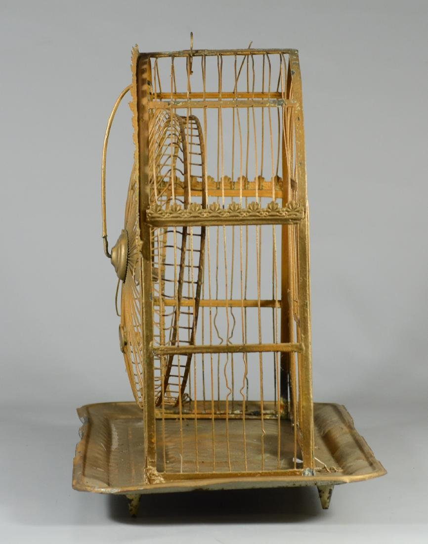 Rare Hendryx Ferris Wheel Bird Cage  c1893  Mfg. to - 2