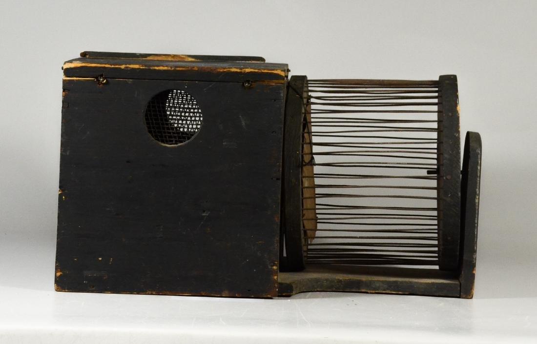 (2) Squirrel Cages, rat trap: RARE 19th Century - 2
