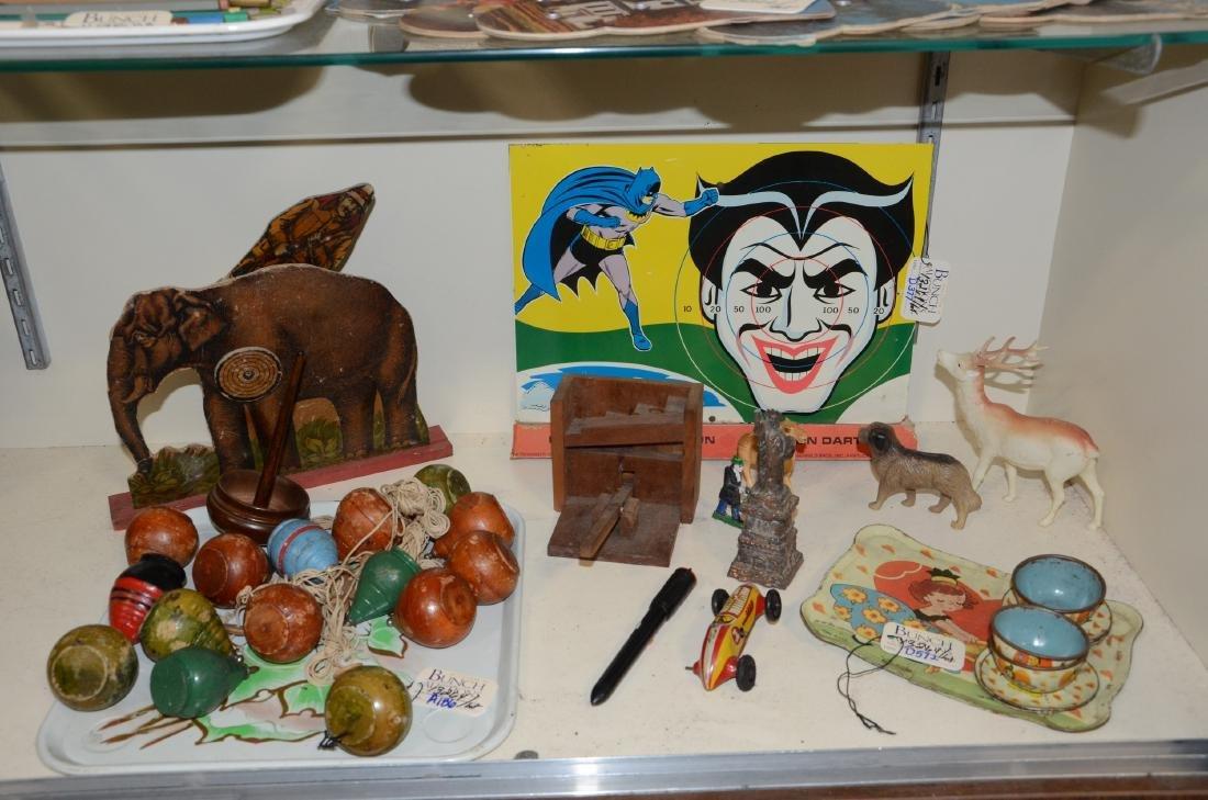 Tin Batman & Robin Target Game Litho Sign  1968 Great