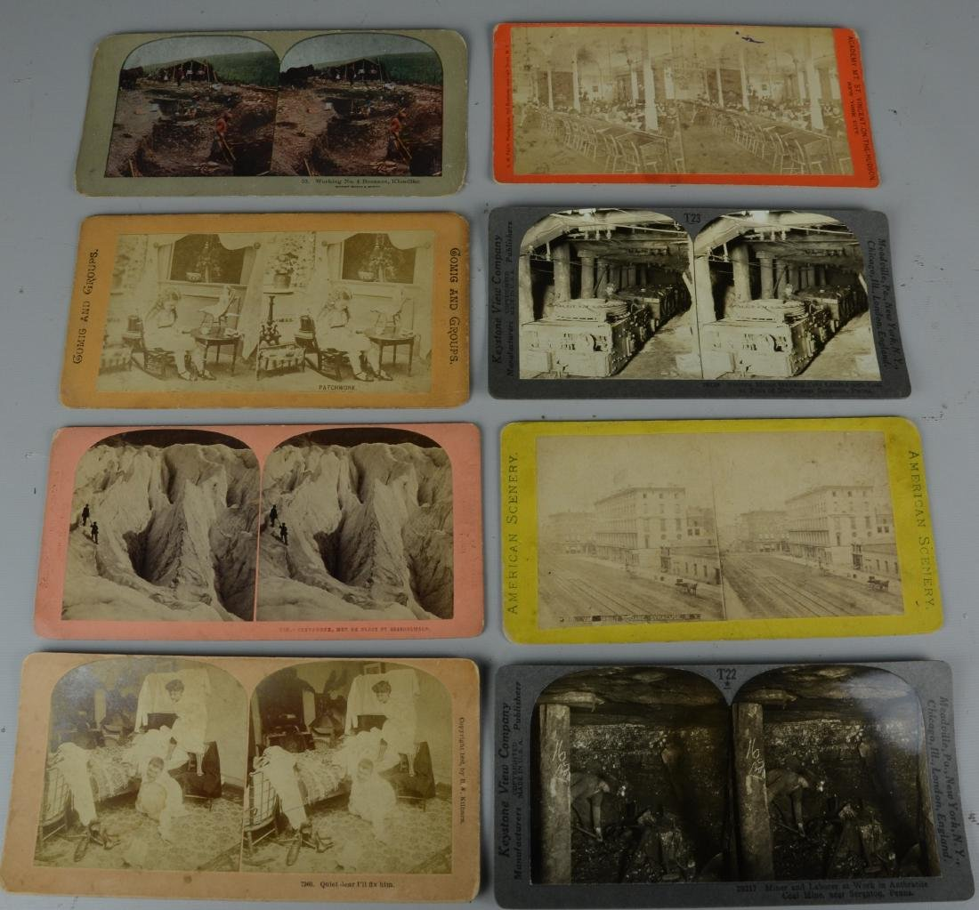 45 pc Stereo Card & (3) Viewers Lot: Long Branch NJ - 5