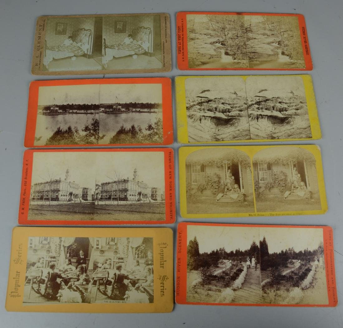 45 pc Stereo Card & (3) Viewers Lot: Long Branch NJ - 6