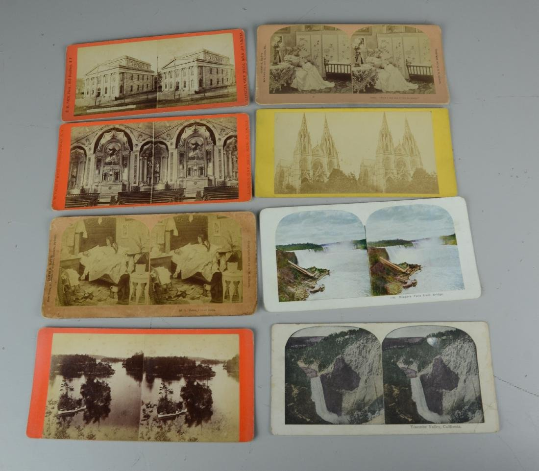 45 pc Stereo Card & (3) Viewers Lot: Long Branch NJ - 7