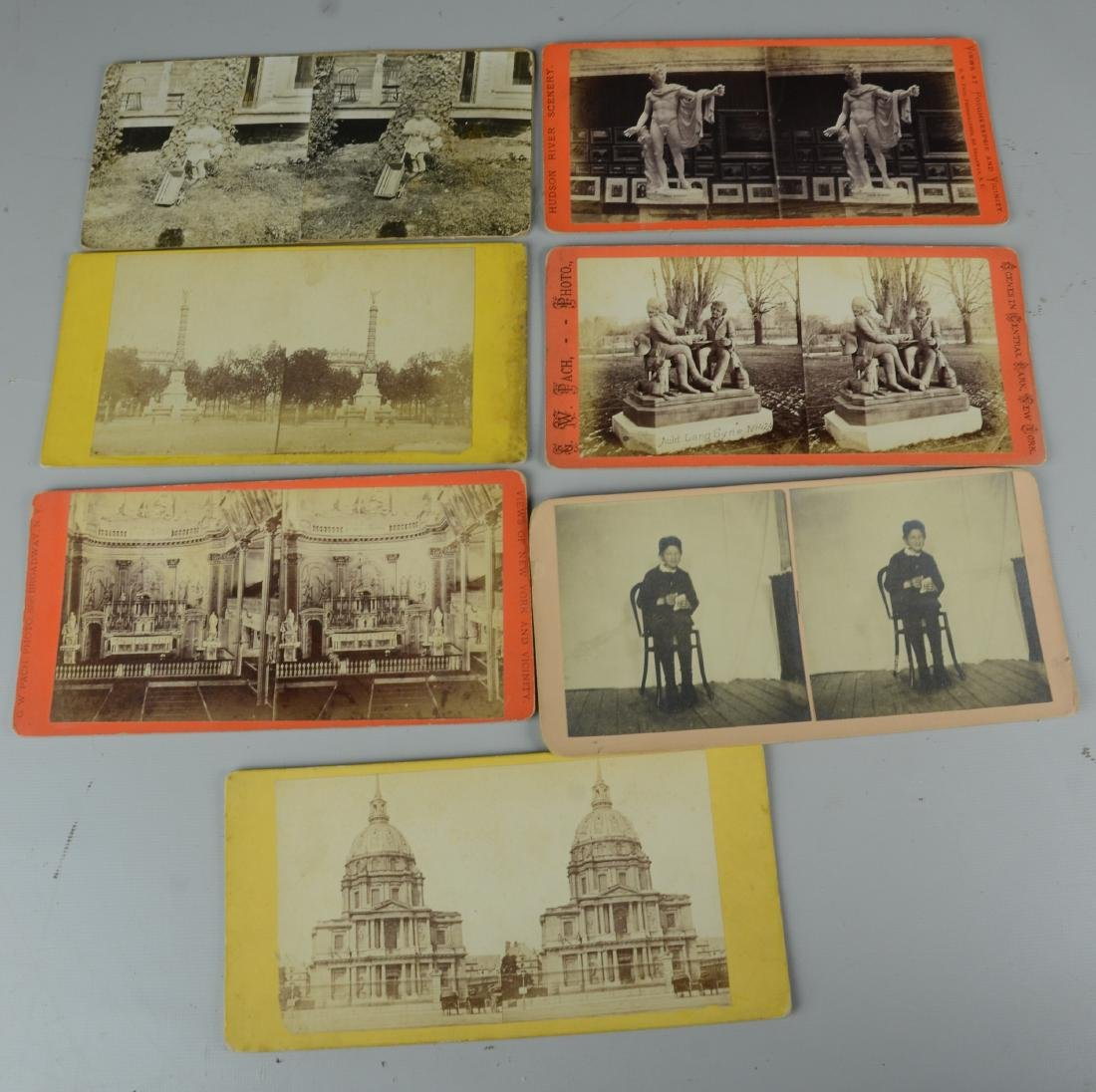 45 pc Stereo Card & (3) Viewers Lot: Long Branch NJ - 8