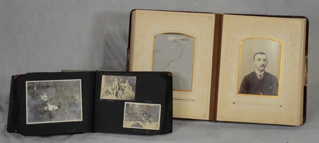 (2) photo albums: Neat Little Snapshot Photo Album - 2