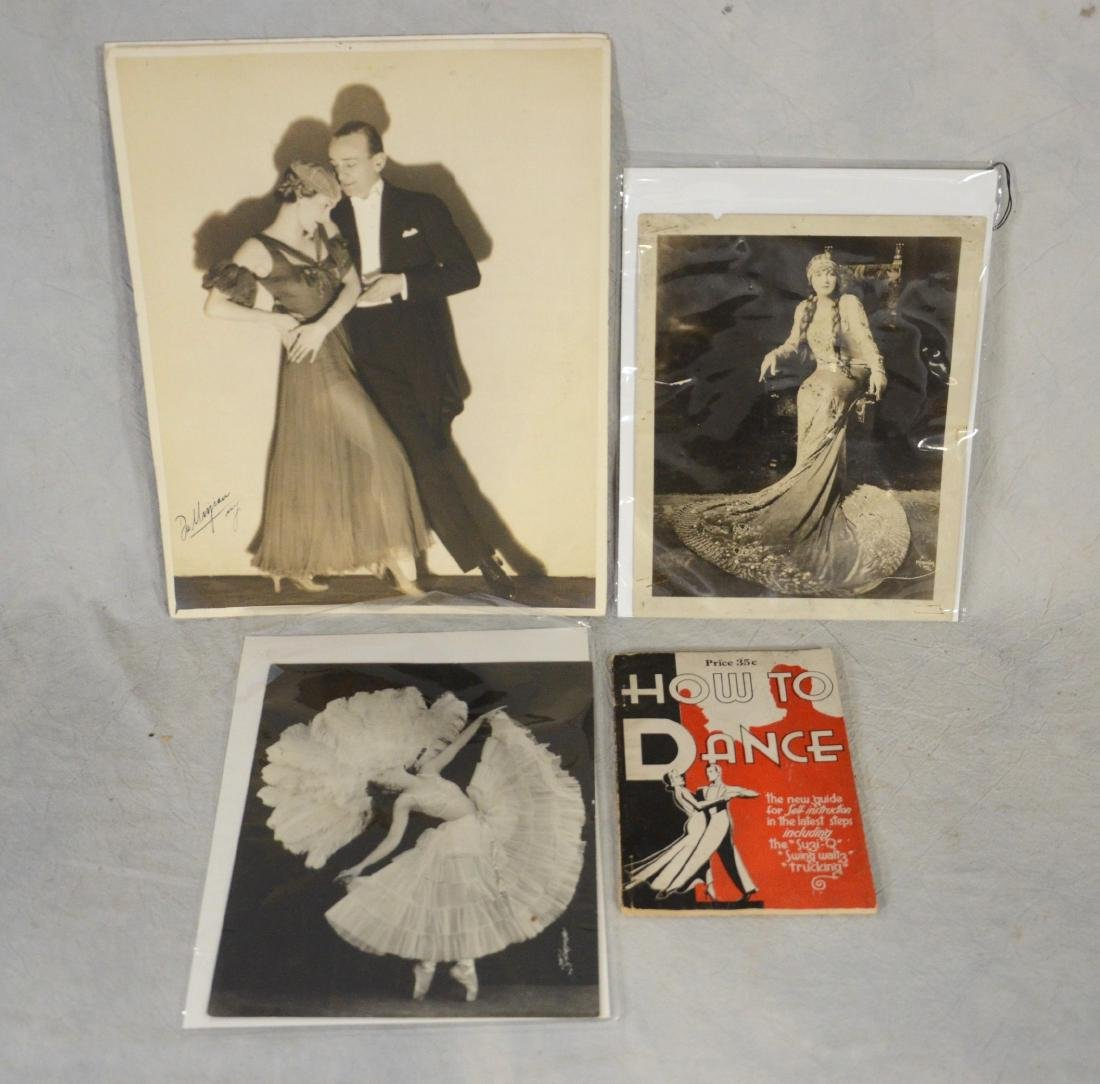 3 early Vaudeville photos w/a book: Rosa Ponselle Prima