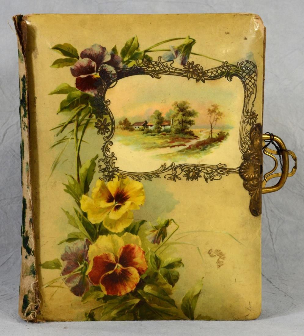 (3) celluloid photo albums: Sweet Celluloid Victorian - 2