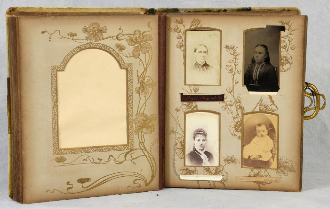 (3) celluloid photo albums: Sweet Celluloid Victorian - 3