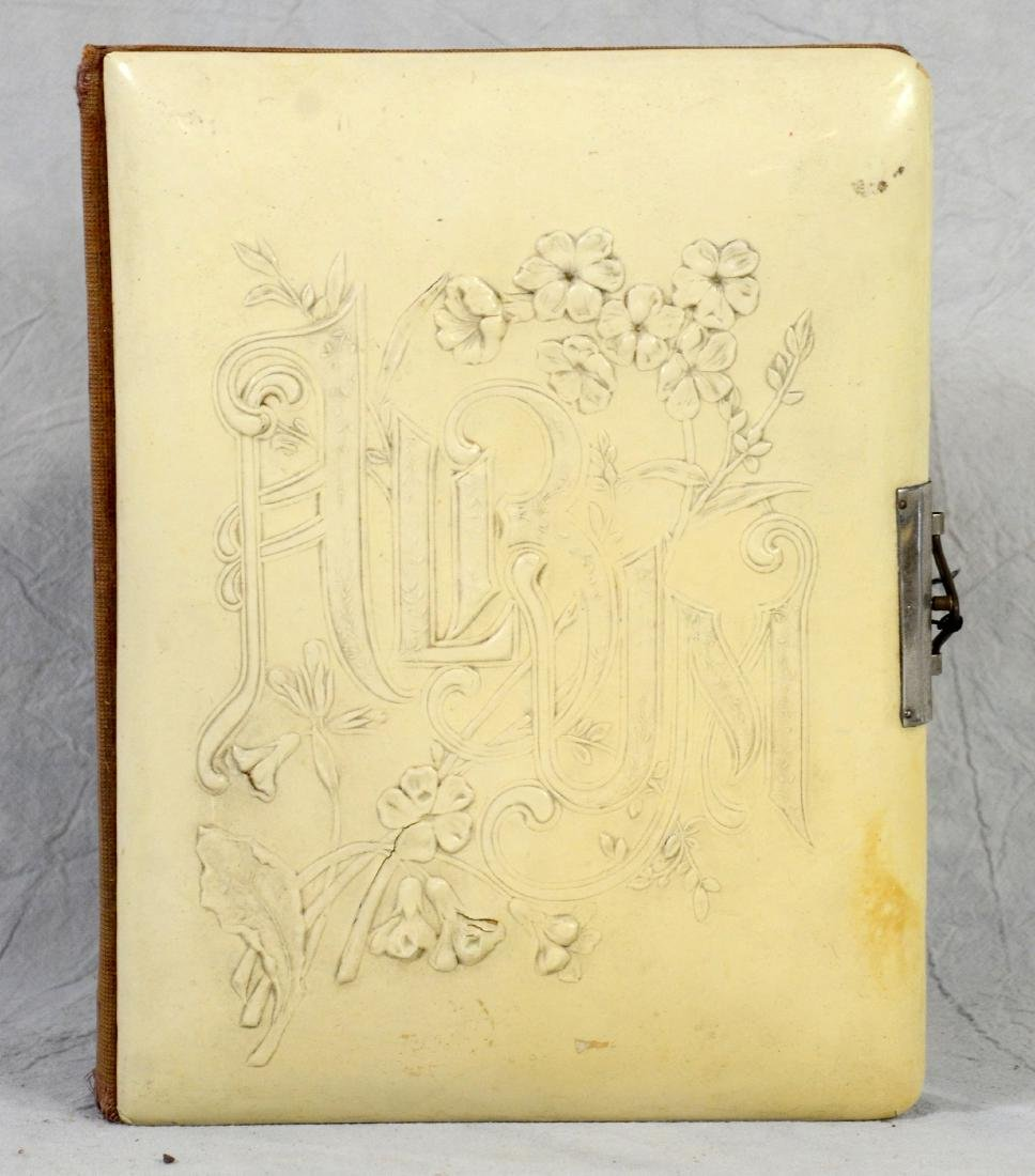 (3) celluloid photo albums: Sweet Celluloid Victorian - 4
