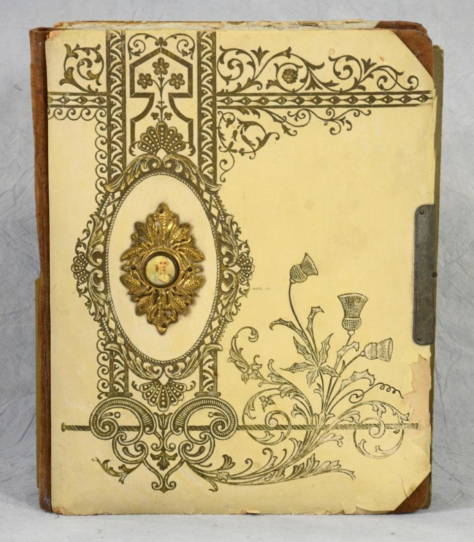 (3) celluloid photo albums: Sweet Celluloid Victorian - 6
