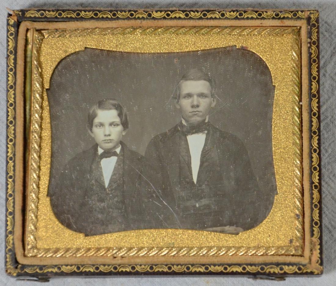 21 Daguerreotype, Ambrotype, Tintype Photos: Lot of 6 - 2