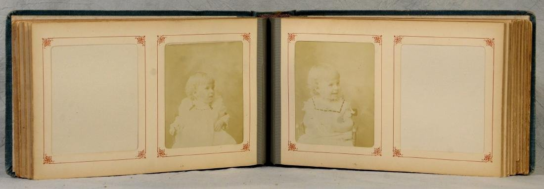 Misc Photo Lot: Odd Late Victorian Photo Album  c1890 - 3