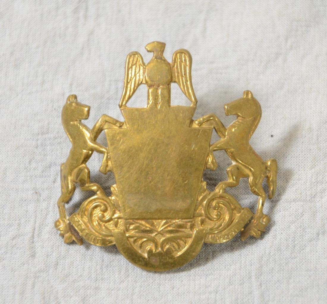 Medal & Ribbon Lot  Patriotic, Fraternal, Memorial, - 2