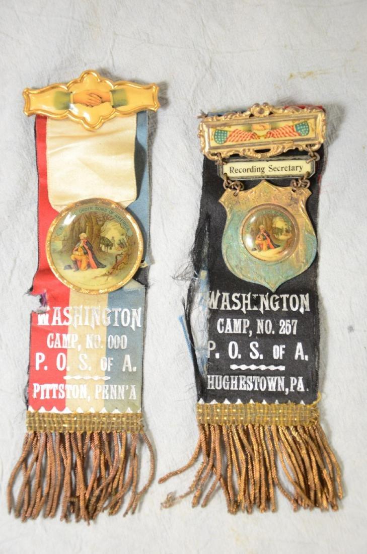 Medal & Ribbon Lot  Patriotic, Fraternal, Memorial, - 4