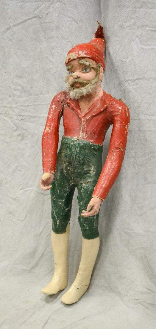 Circus Side Show Elf c1940  Realistic Paper Mache and - 2