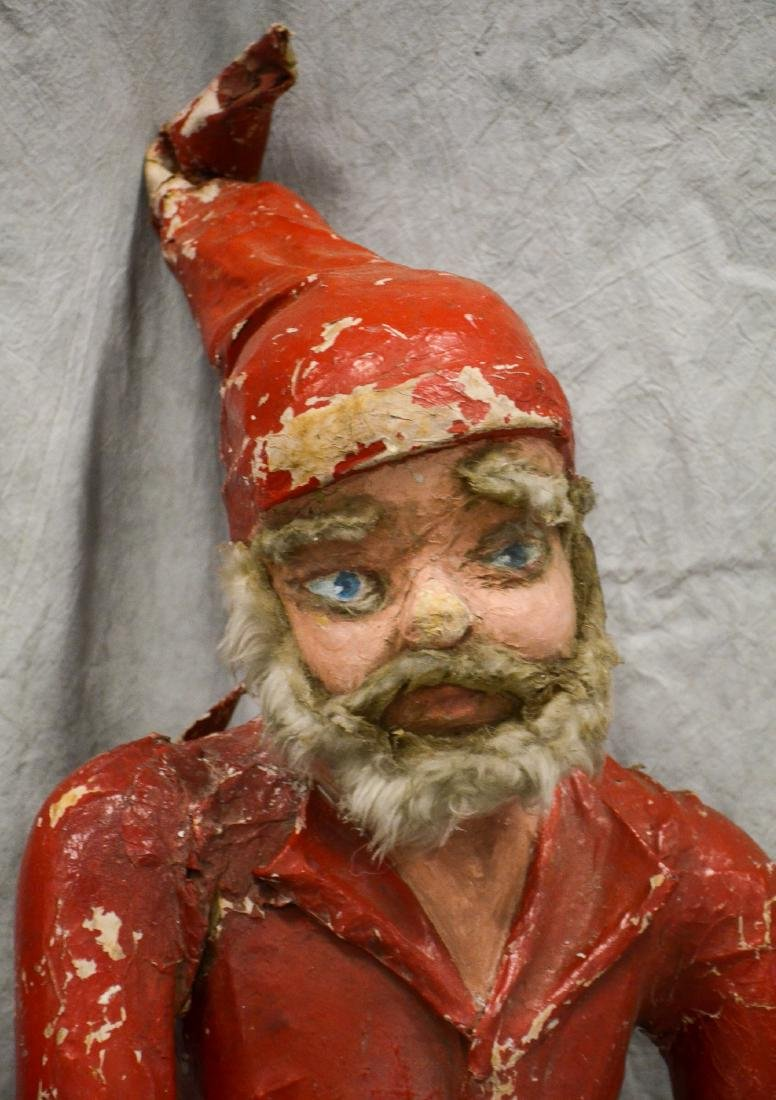 Circus Side Show Elf c1940  Realistic Paper Mache and - 3