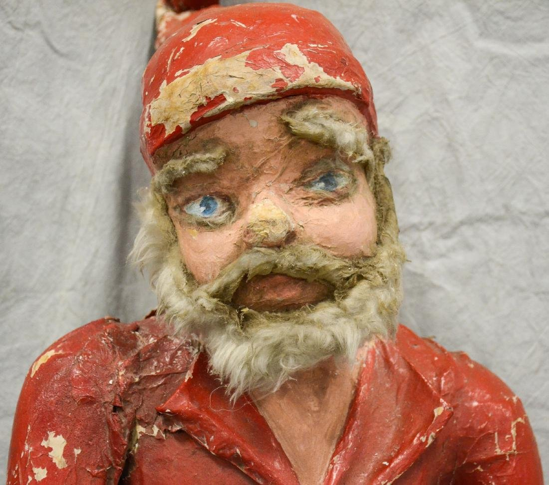 Circus Side Show Elf c1940  Realistic Paper Mache and - 6