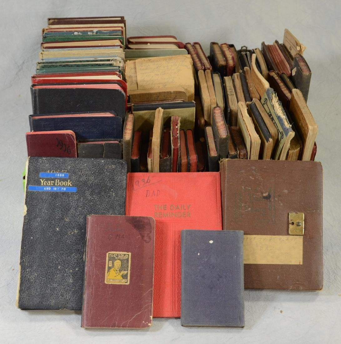 Huge Multigenerational Diary Lot, 80+ Journals from
