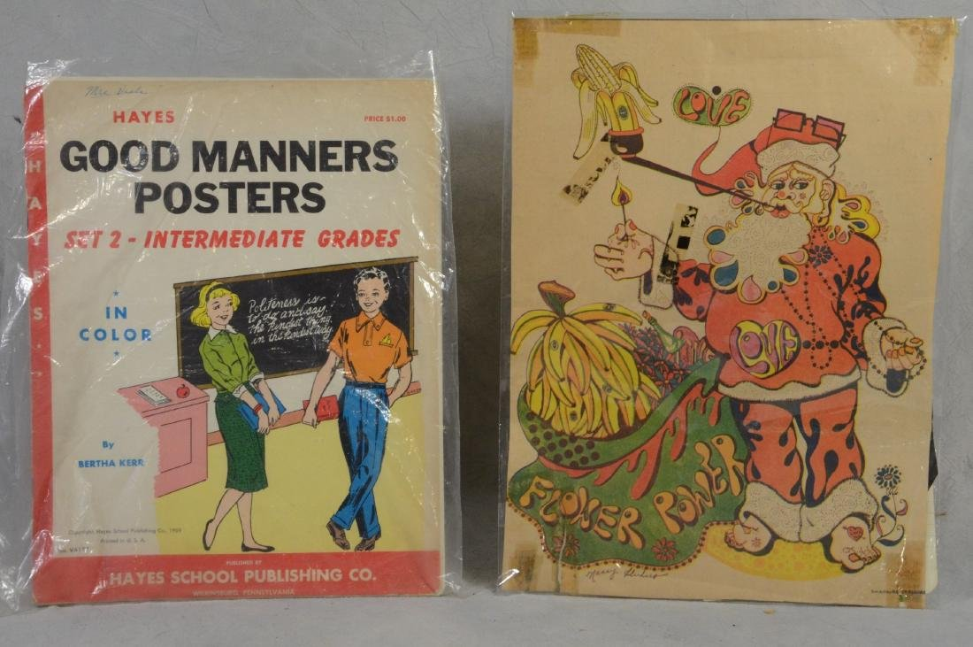 Atomic Age Good Manners SC Book of Posters by Bertha