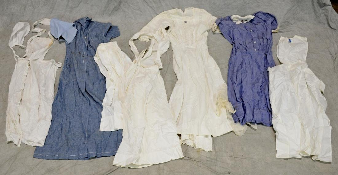 Antique Nursing Uniform Lot  9pcs  Nurse outfits