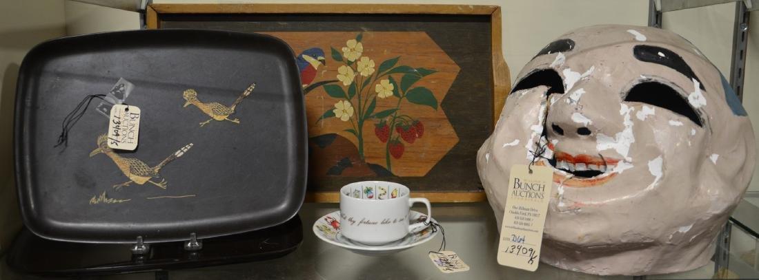 Misc Lot: Fortune Telling Tea Reading Cup Set Zodiac