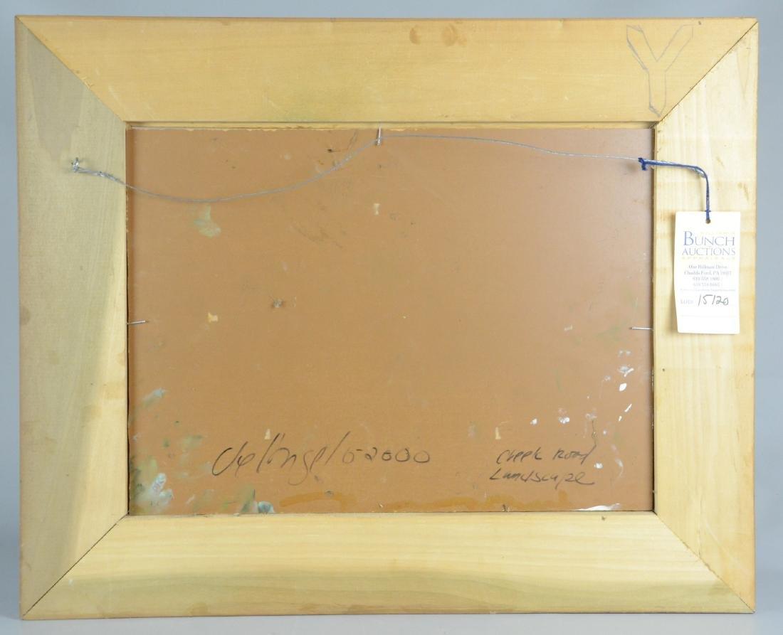 deAngelo, oil on masonite, - 5