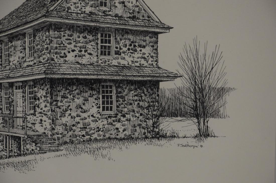 """Peter Sculthorpe (American, b. 1948), drawing """"The - 2"""