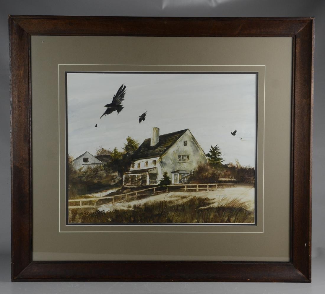 Rea Redifer (American, 1933-2008), landscape painting - 2