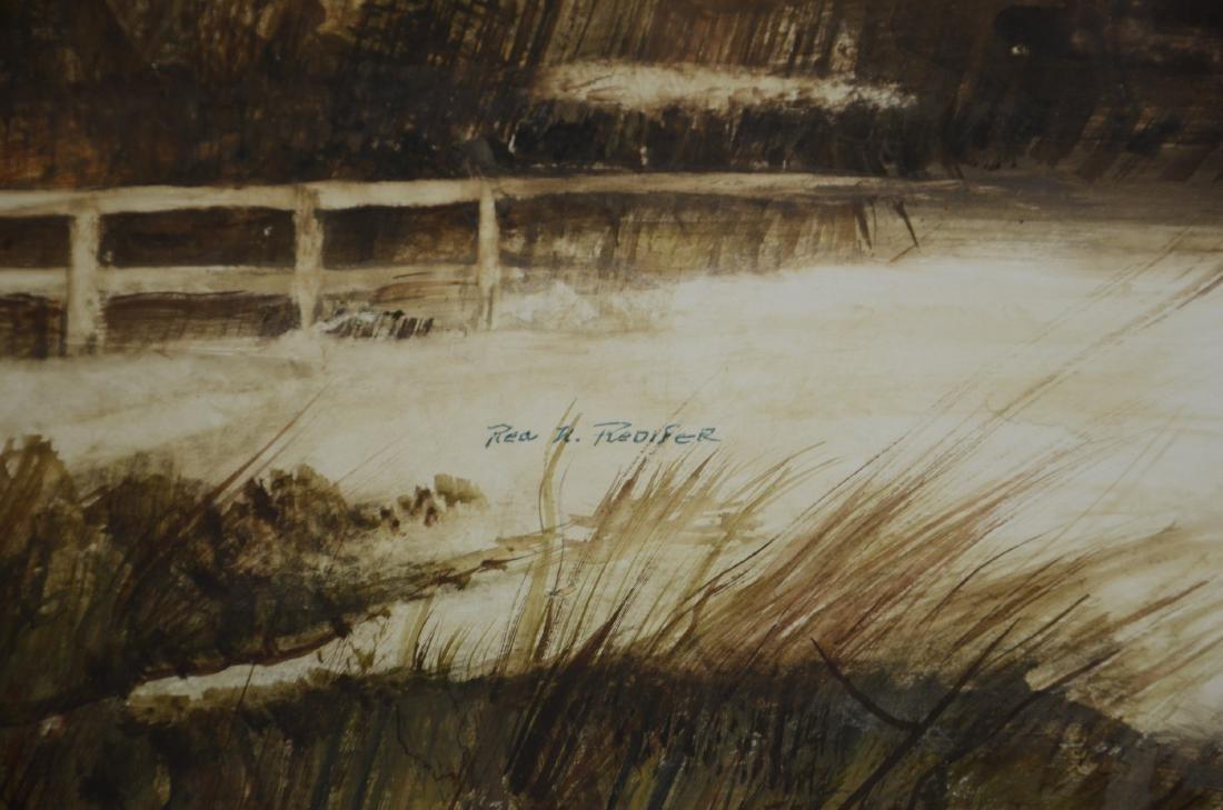 Rea Redifer (American, 1933-2008), landscape painting - 3