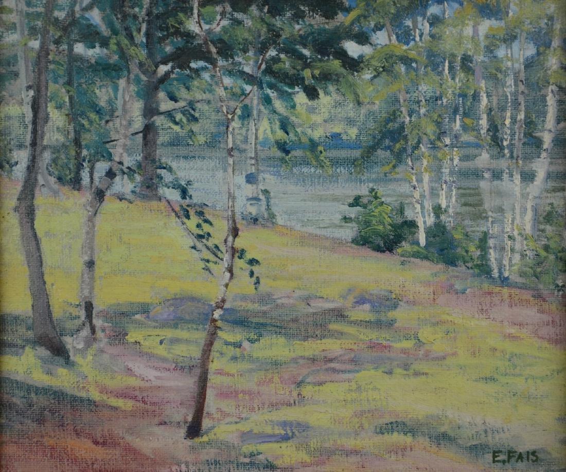 Eunice Fais (American, 1901-1996), landscape painting