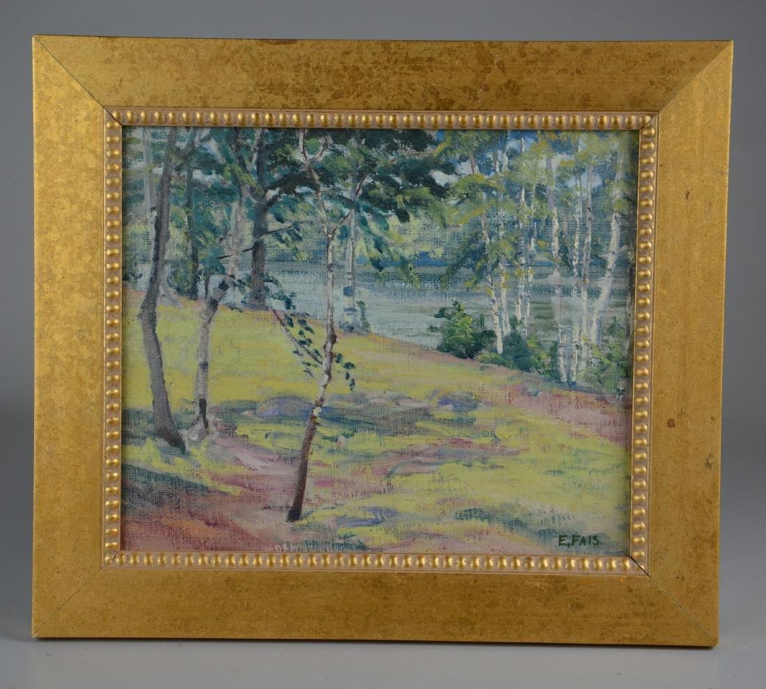 Eunice Fais (American, 1901-1996), landscape painting - 2